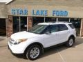 Oxford White 2014 Ford Explorer XLT 4WD