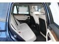 2011 BMW X3 Oyster Nevada Leather Interior Rear Seat Photo