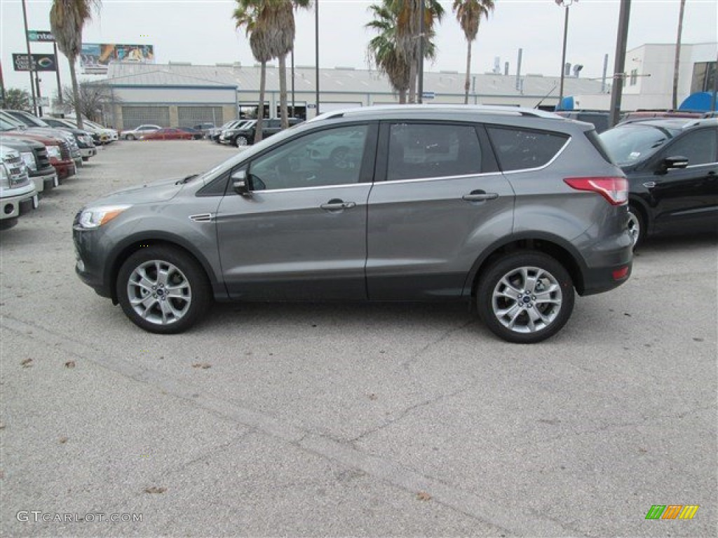 2014 Escape Titanium 2.0L EcoBoost - Sterling Gray / Charcoal Black photo #4