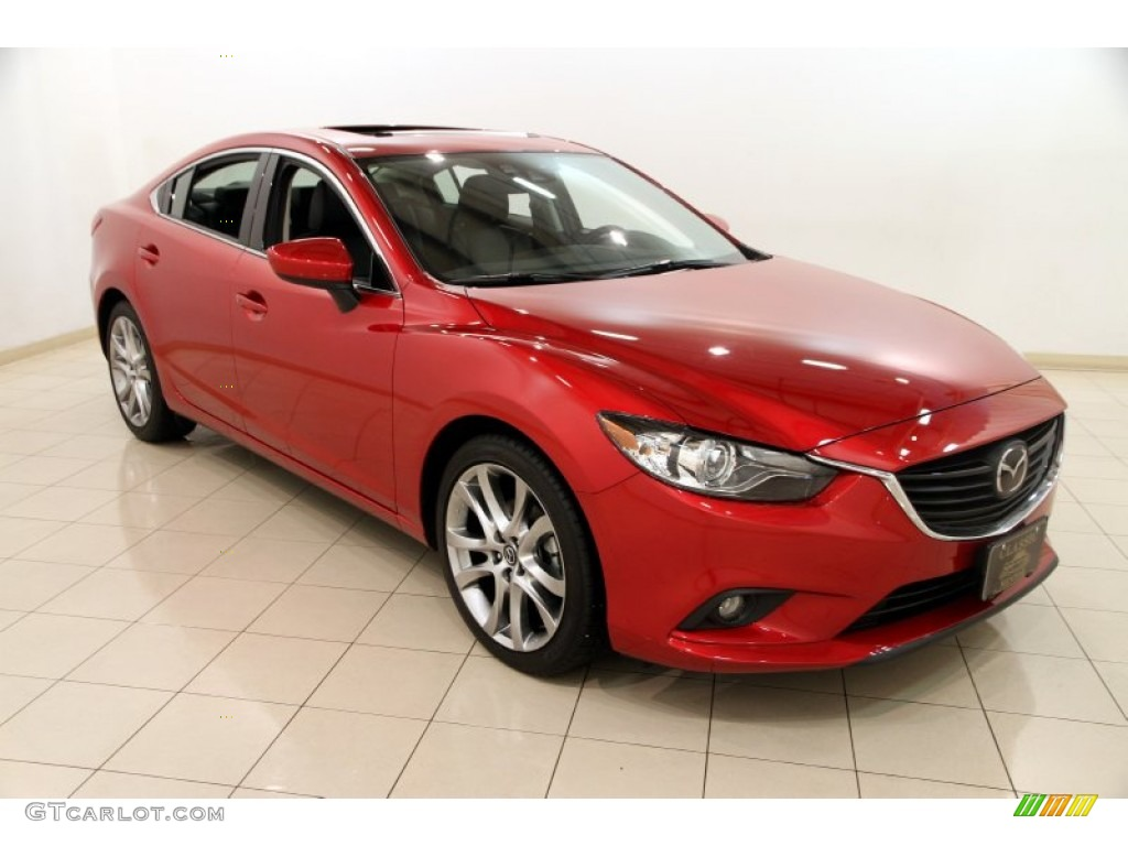 2014 soul red mica mazda mazda6 grand touring 90882218 car color galleries. Black Bedroom Furniture Sets. Home Design Ideas
