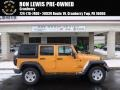 2012 Dozer Yellow Jeep Wrangler Unlimited Sport 4x4 #90881903