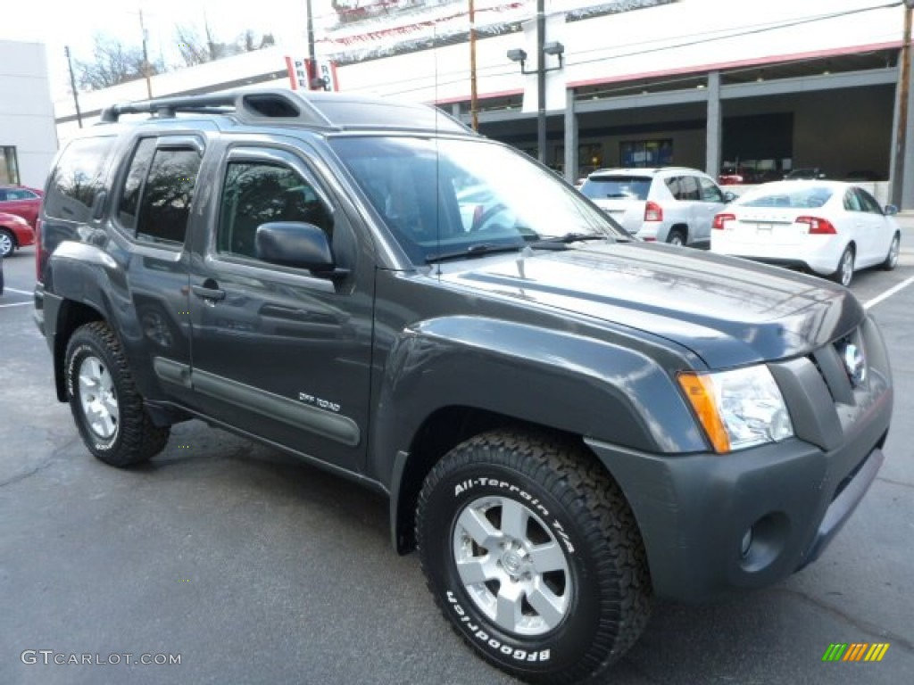 2005 night armor pearl nissan xterra off road 4x4. Black Bedroom Furniture Sets. Home Design Ideas