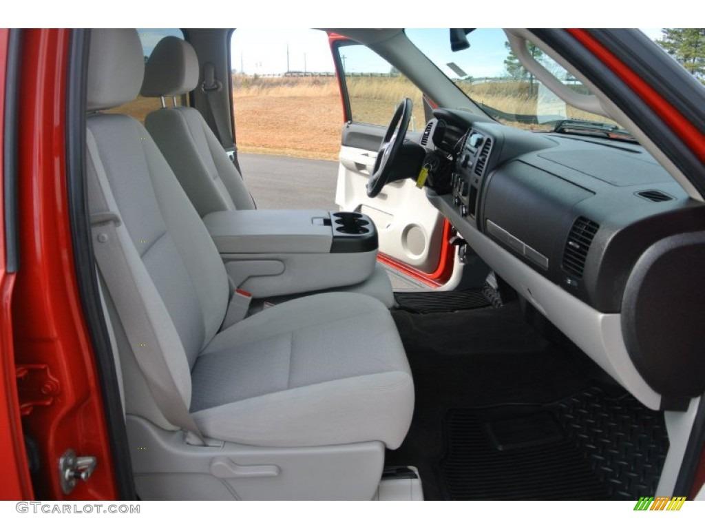 2009 Silverado 1500 LT Crew Cab 4x4 - Victory Red / Light Titanium photo #18