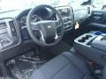 2014 Chevrolet Silverado 1500 Jet Black Interior Prime Interior Photo