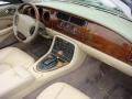 2001 Jaguar XK Oatmeal Interior Dashboard Photo