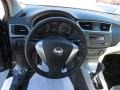 2014 Nissan Sentra Charcoal Interior Dashboard Photo
