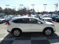 2013 White Diamond Pearl Honda CR-V EX  photo #3