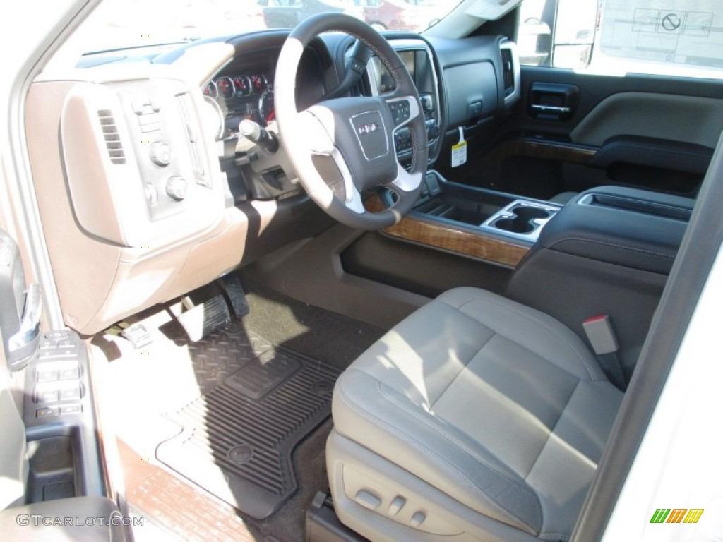 Cocoa/Dune Interior 2015 GMC Sierra 2500HD SLT Crew Cab ...