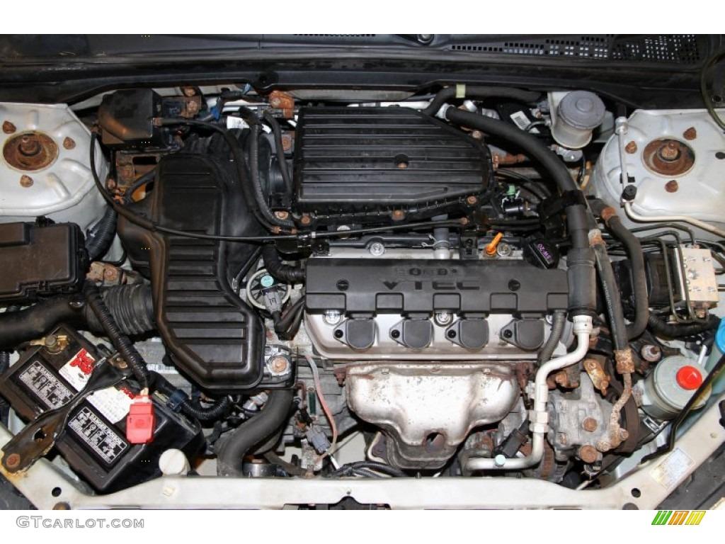 2005 Honda Civic Ex Sedan Engine Photos
