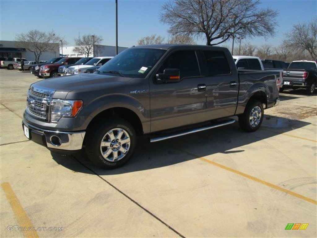 2014 sterling grey ford f150 xlt supercrew 91005520 car color galleries. Black Bedroom Furniture Sets. Home Design Ideas