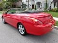 Absolutely Red 2005 Toyota Solara SLE V6 Convertible