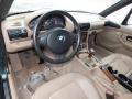 2000 BMW Z3 Beige Interior Prime Interior Photo