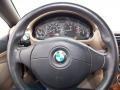 2000 BMW Z3 Beige Interior Steering Wheel Photo