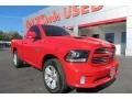 Flame Red - 1500 Sport Regular Cab 4x4 Photo No. 1