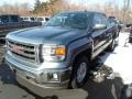 Stealth Gray Metallic 2014 GMC Sierra 1500 SLE Double Cab 4x4