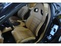 2008 Ferrari 599 GTB Fiorano Beige Interior Front Seat Photo