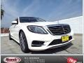 Diamond White Metallic 2014 Mercedes-Benz S 550 Sedan