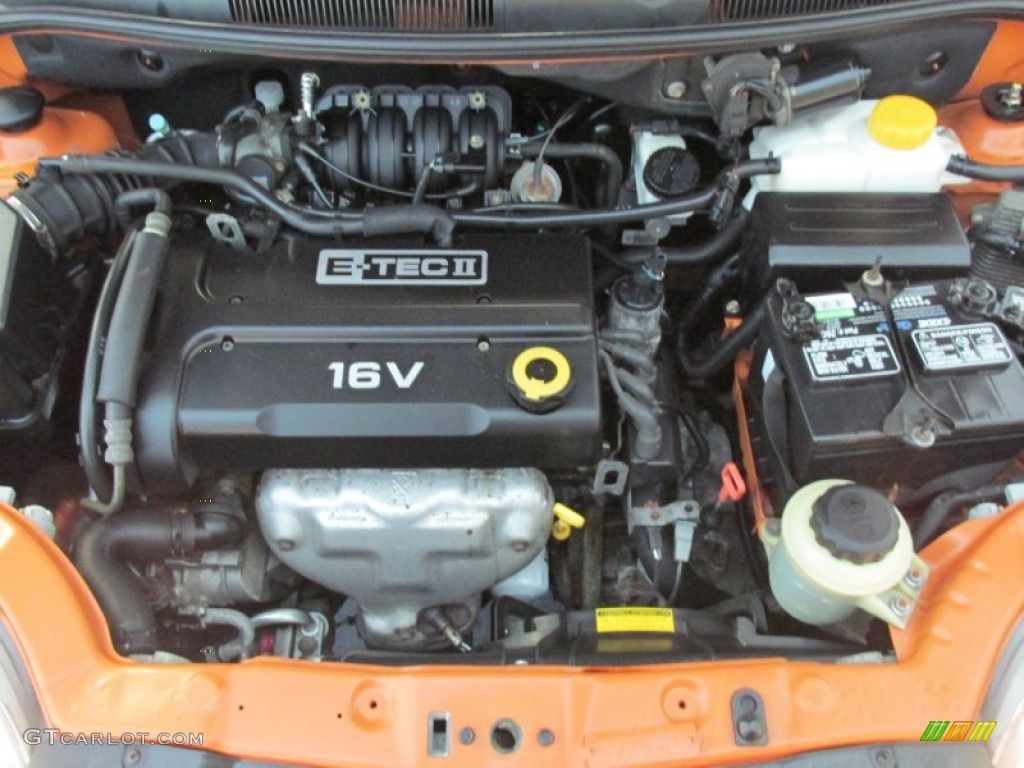 2006 Chevrolet Aveo Lt Hatchback Engine Photos