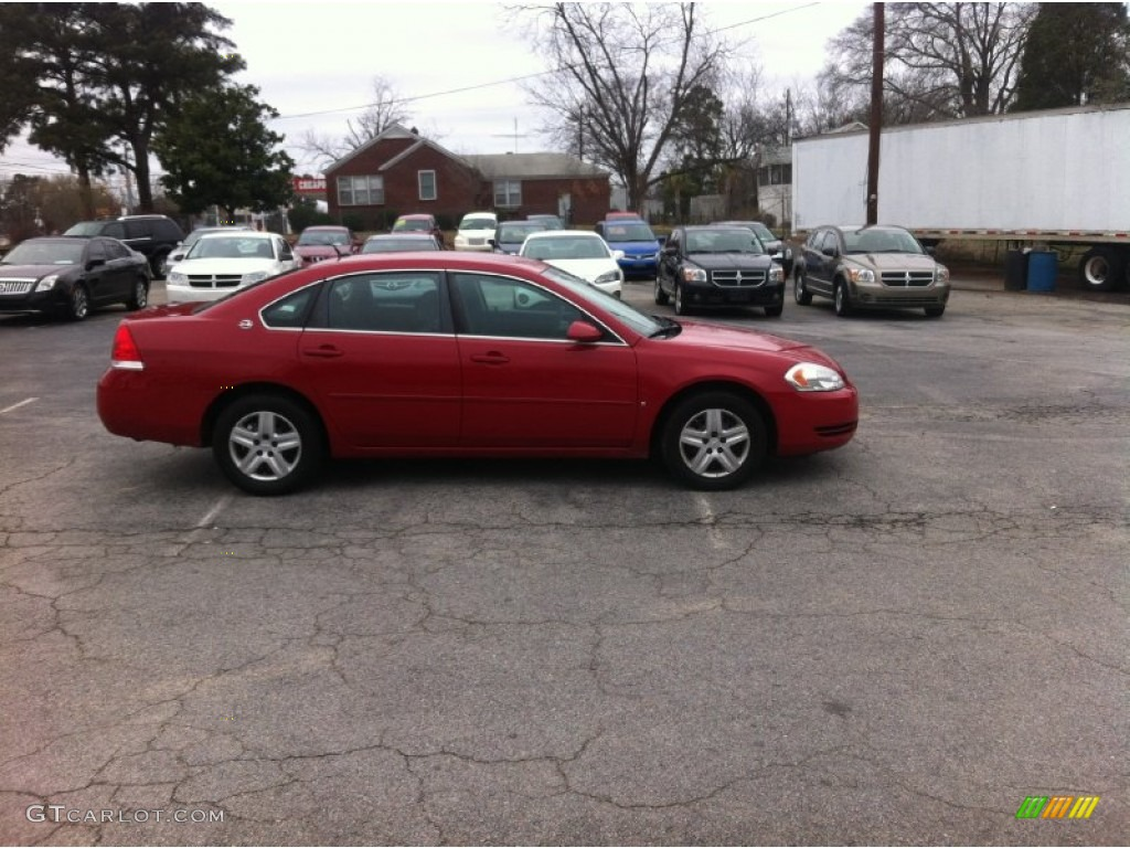 Precision Red 2007 Chevrolet Impala Ls Exterior Photo 91105895
