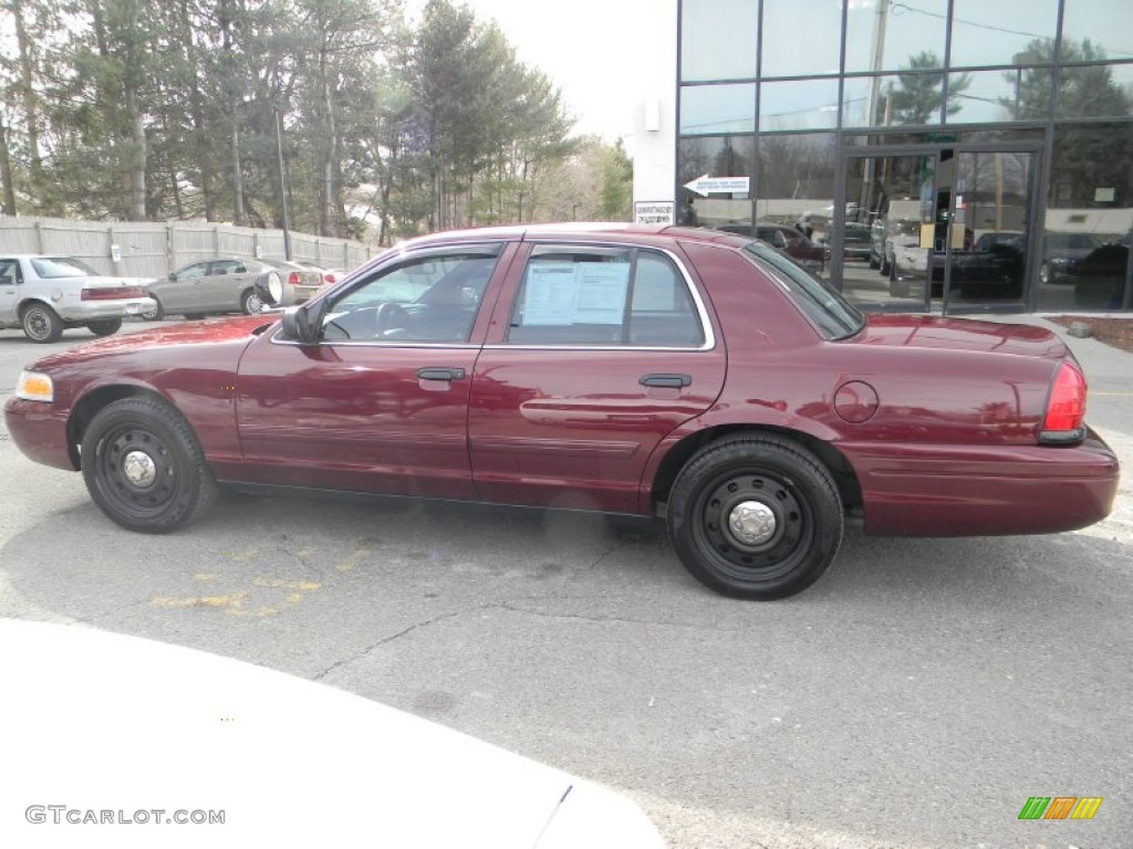 2009 dark toreador red metallic ford crown victoria police for Crown motors ford redding