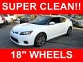Super White 2012 Scion tC