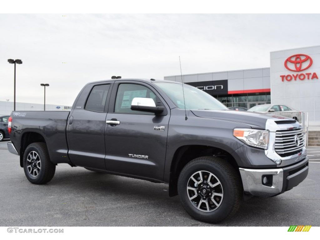 2018 Toyota Tundra Double Cab >> 2014 Magnetic Gray Metallic Toyota Tundra Limited Double Cab 4x4 #91129407 | GTCarLot.com - Car ...