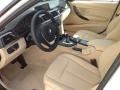Venetian Beige 2014 BMW 3 Series Interiors