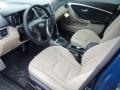 Beige 2014 Hyundai Elantra Interiors