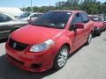 Vivid Red 2008 Suzuki SX4 Sport Sedan