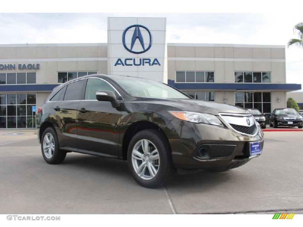 Rdx Acura 2014 >> 2014 Kona Coffee Metallic Acura RDX #91171916 Photo #4 | GTCarLot.com - Car Color Galleries