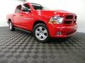 2012 Flame Red Dodge Ram 1500 ST Crew Cab 4x4 #91214323
