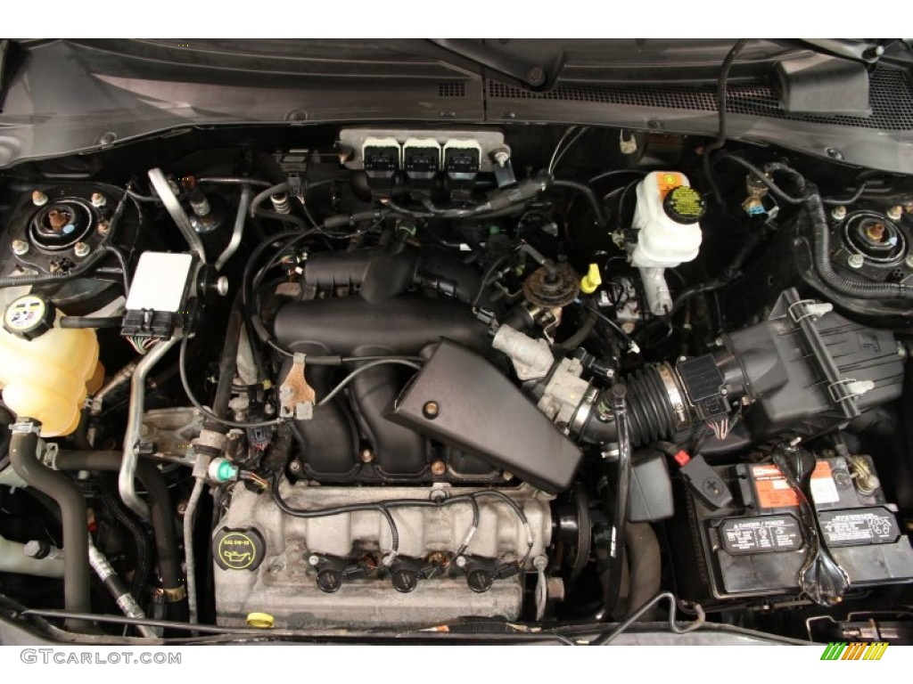 2005 ford escape xlt v6 engine photos