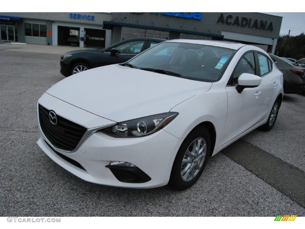 2014 snowflake white pearl mazda mazda3 i grand touring 4. Black Bedroom Furniture Sets. Home Design Ideas