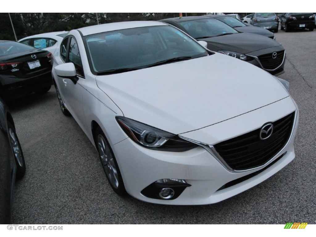 2014 snowflake white pearl mazda mazda3 s touring 4 door. Black Bedroom Furniture Sets. Home Design Ideas