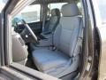 Brownstone Metallic - Silverado 1500 WT Crew Cab 4x4 Photo No. 9
