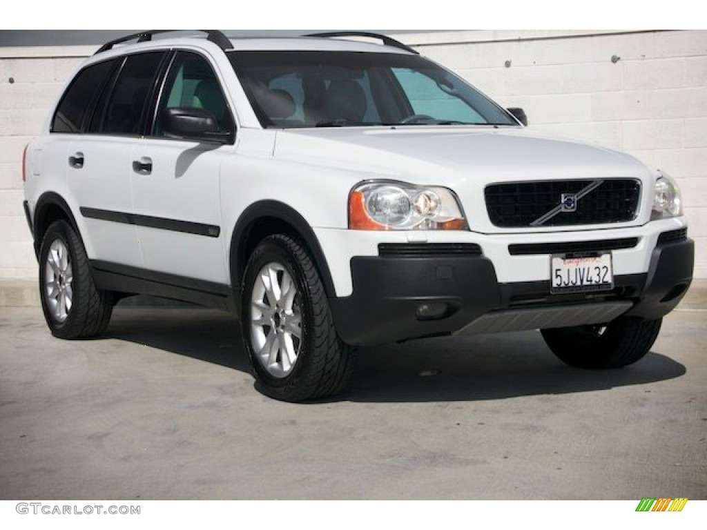 2004 ice white volvo xc90 t6 awd 91214201 car color galleries. Black Bedroom Furniture Sets. Home Design Ideas