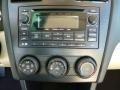 2014 Subaru Impreza Ivory Interior Audio System Photo