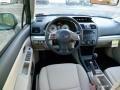 2014 Subaru Impreza Ivory Interior Dashboard Photo
