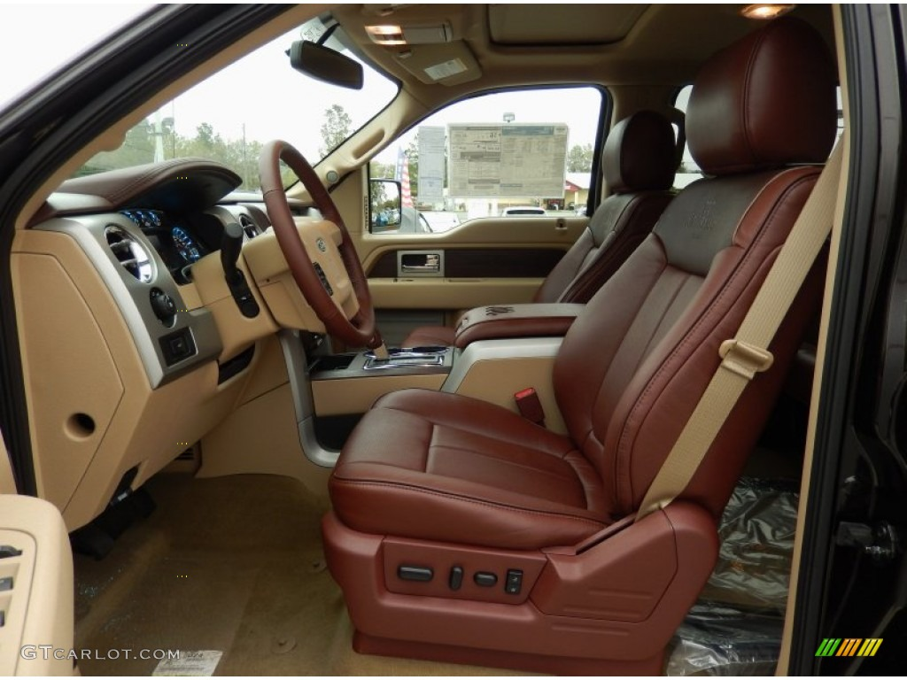 King Ranch Chaparral Pale Adobe Interior 2014 Ford F150 King Ranch