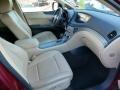 2009 Subaru Tribeca Desert Beige Interior Interior Photo
