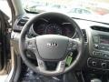 Black Steering Wheel Photo for 2015 Kia Sorento #91298822