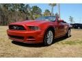 2013 Red Candy Metallic Ford Mustang V6 Premium Convertible #91286147