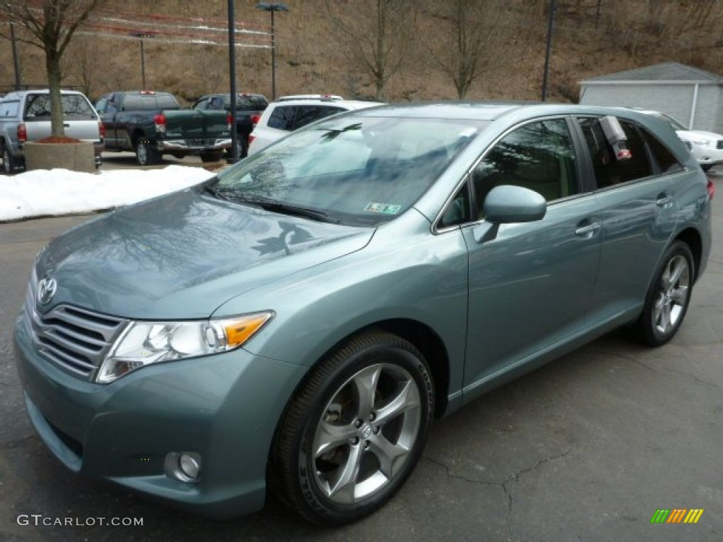 aloe green metallic 2011 toyota venza v6 awd exterior. Black Bedroom Furniture Sets. Home Design Ideas