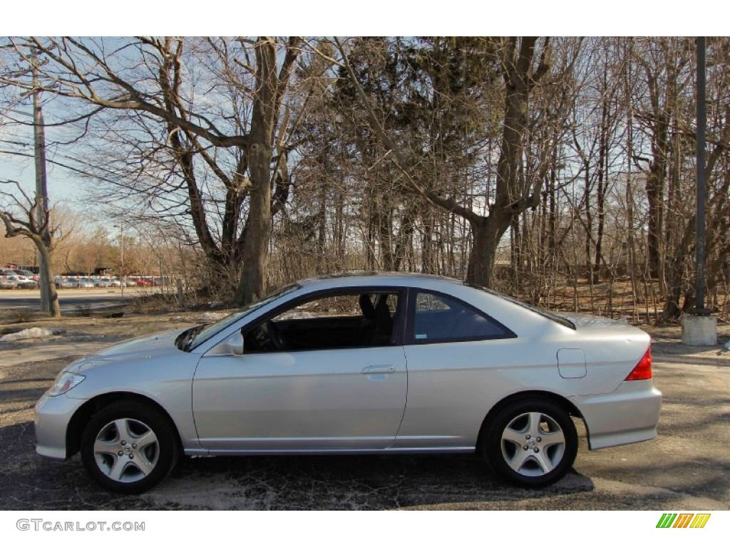 Satin Silver Metallic 2004 Honda Civic Ex Coupe Exterior Photo 91314187 Gtcarlot Com