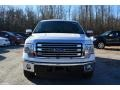 2014 White Platinum Ford F150 Lariat SuperCrew  photo #4