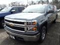 Blue Granite Metallic - Silverado 1500 WT Crew Cab 4x4 Photo No. 1