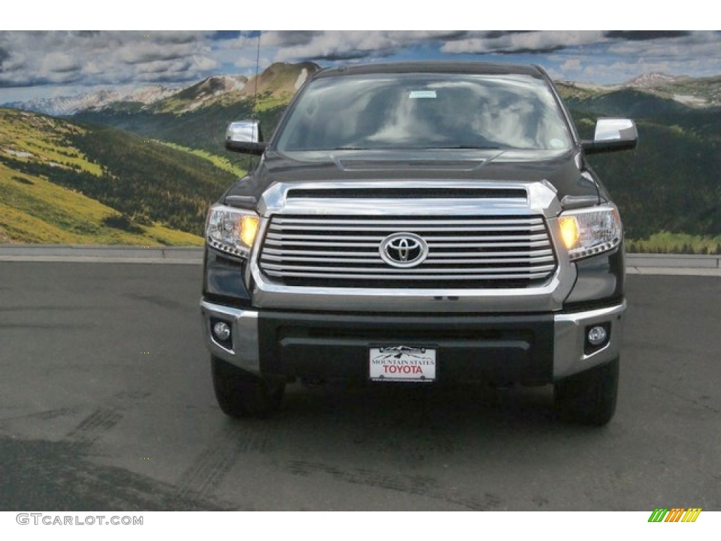2014 Tundra Limited Crewmax 4x4 - Attitude Black Metallic / Sand Beige photo #2