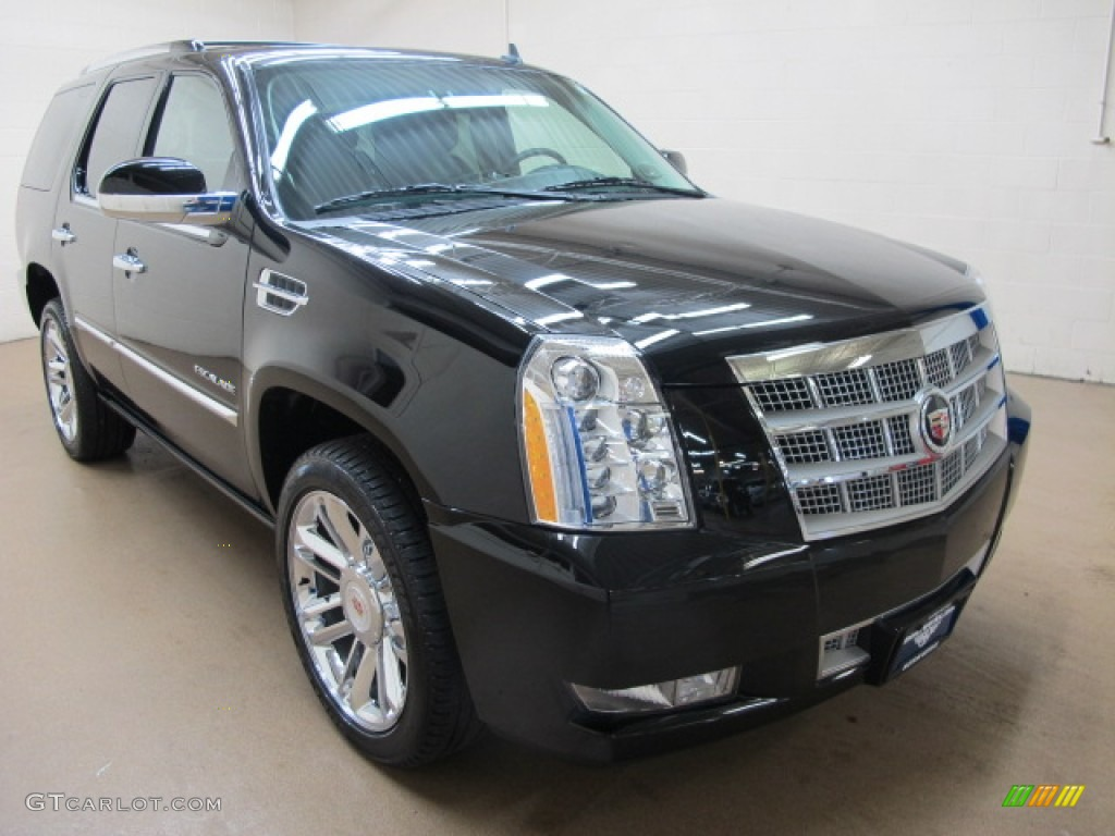 2012 black raven cadillac escalade platinum awd 91362742. Black Bedroom Furniture Sets. Home Design Ideas