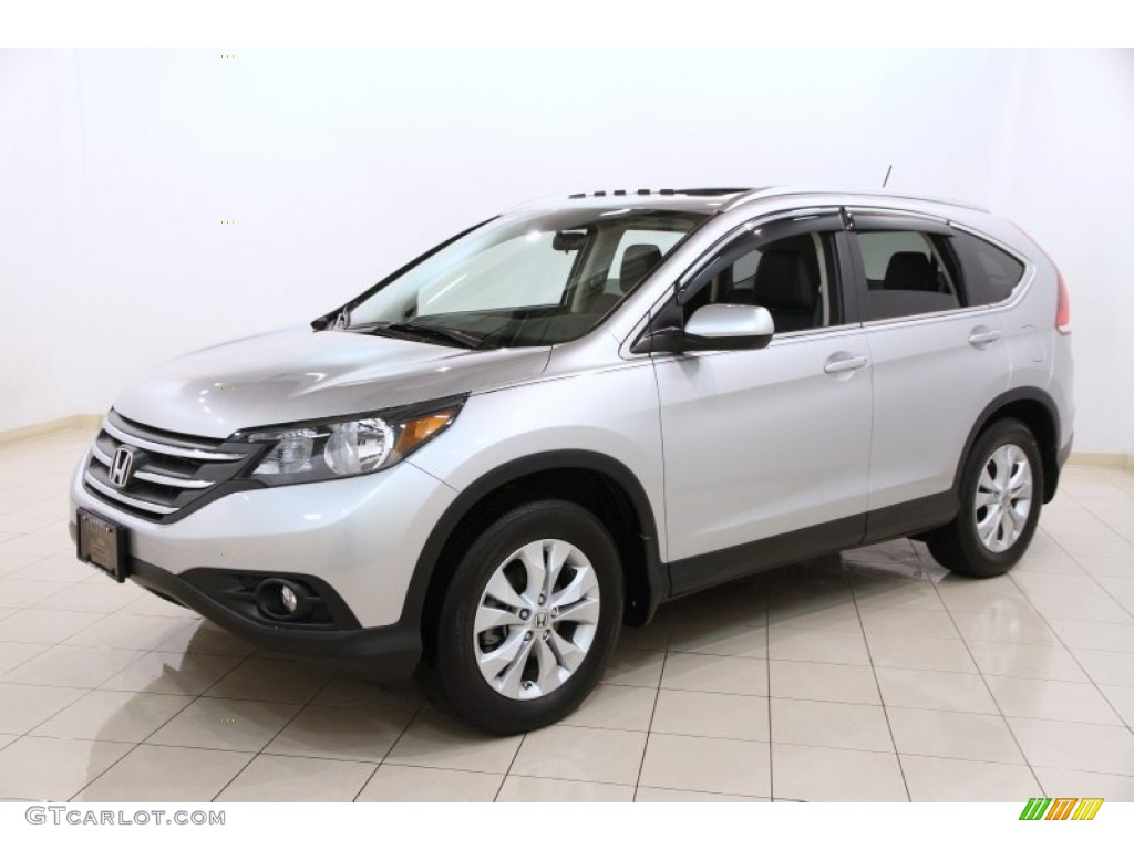 Alabaster Silver Metallic 2012 Honda CR-V EX-L 4WD Exterior Photo #91398673