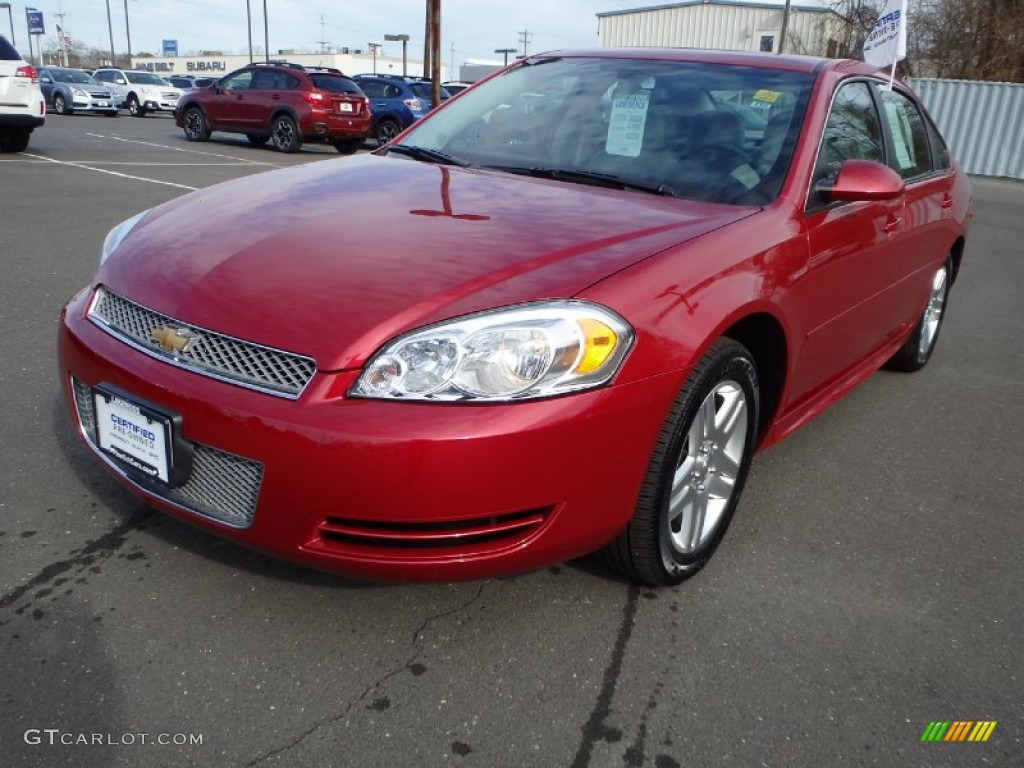 2014 crystal red tintcoat chevrolet impala limited lt 91362723 car color galleries. Black Bedroom Furniture Sets. Home Design Ideas